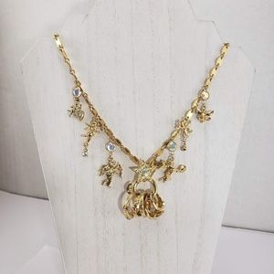 Kirks Folly Secrets of the 7 Angels Charm Necklace